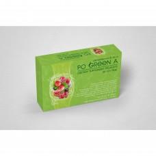 โปกรีนเอ Po Green A ดีท๊อกซ์ปรับสมดุลระบบขับถ่ายควบคุมการทานอาหาร 1 กล่อง 10 ซอง