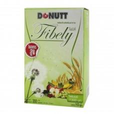 Donut Total Fibely รสน้ำผึ้งมะนาว 1 กล่อง บรรจุ 10 ซอง