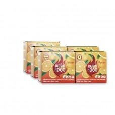 Nature Gift เบอร์น่า 1000 กลิ่นส้ม 1 ชุด มี 5 กล่อง กล่องละ 10 ซอง